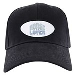 Horse Lover Equine Riding Black Cap