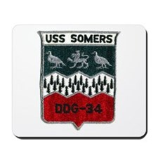 USS SOMERS Mousepad