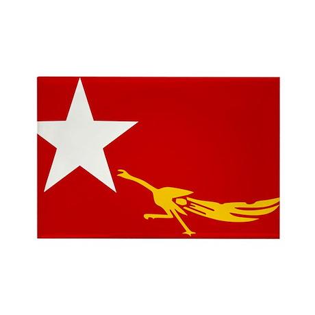 NLD BURMA FLAG Rectangle Magnet