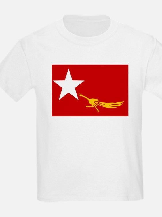 NLD BURMA FLAG T-Shirt