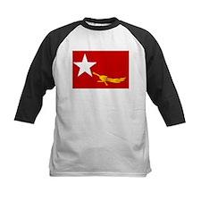 NLD BURMA FLAG Tee