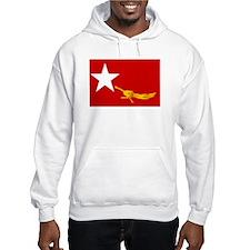 NLD BURMA FLAG Hoodie