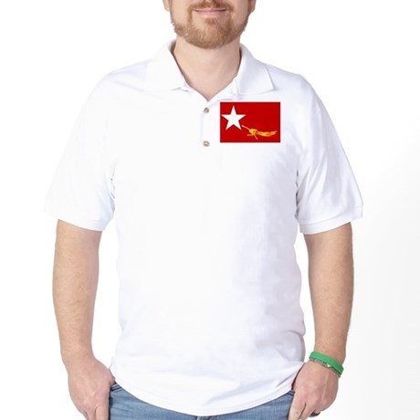 NLD BURMA FLAG Golf Shirt