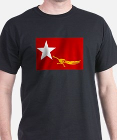 NLD BURMA FLAG T-Shirt