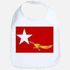 NLD BURMA FLAG Bib