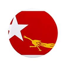 "NLD BURMA FLAG 3.5"" Button"
