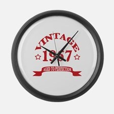 Vintage 1967 Aged to Perfection Large Wall Clock