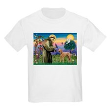 St Francis / Std Poodle(a) T-Shirt