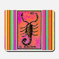 El Alacran & Stripes Mousepad