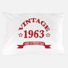 Vintage 1963 Aged to Perfection Pillow Case