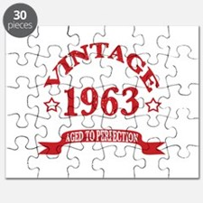 Vintage 1963 Aged to Perfection Puzzle