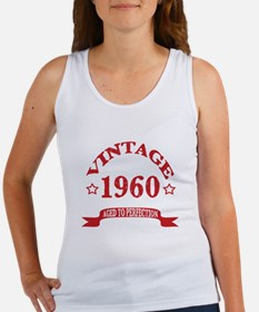 Vintage 1960 Aged to Perfection Women's Tank Top