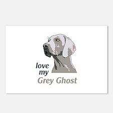 Love My Grey Ghost Postcards (Package of 8)