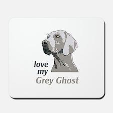 Love My Grey Ghost Mousepad