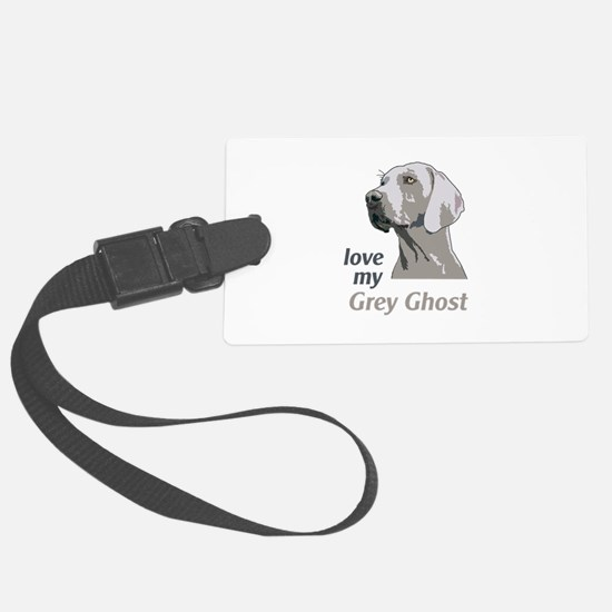 Love My Grey Ghost Luggage Tag
