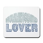Hummingbird Lover Bird Love Mousepad