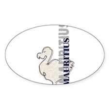 Stamp Oval Decal