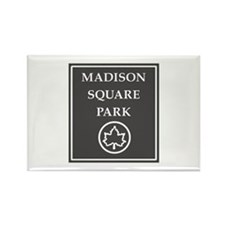 Madison Square Park, NYC - USA Rectangle Magnet