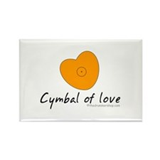 Cymbal of love : Rectangle Magnet