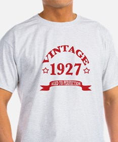 Vintage 1927 Aged to Perfection T-Shirt