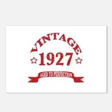 Vintage 1927 Aged to Perf Postcards (Package of 8)