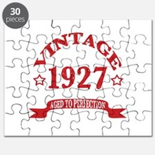 Vintage 1927 Aged to Perfection Puzzle