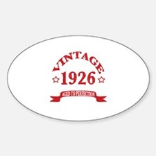 Vintage 1926 Aged to Perfection Decal