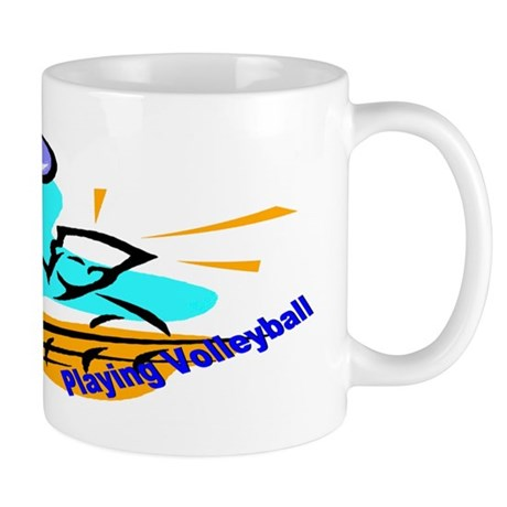 Rather Be Playing Volleyball Mug