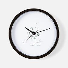 Island culture Wall Clock
