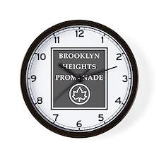Brooklyn Heights Promenade, NYC - USA Wall Clock
