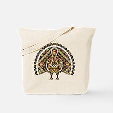Fall Turkey Tote Bag