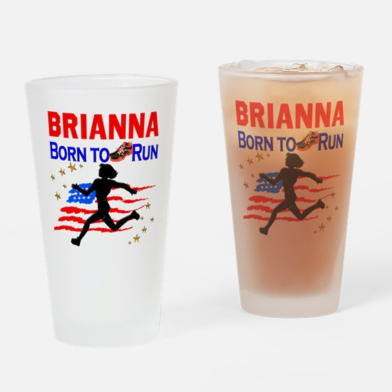 PERSONALIZE RUNNER Drinking Glass