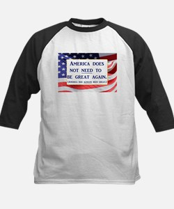America does not need to be great Baseball Jersey