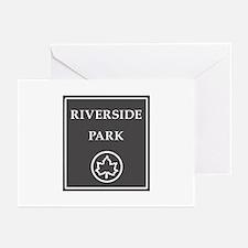 Riverside Park, NYC - USA Greeting Cards (Pk of 10