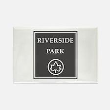 Riverside Park, NYC - USA Rectangle Magnet