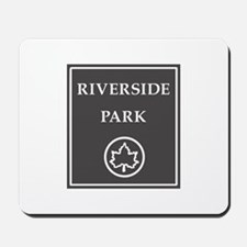 Riverside Park, NYC - USA Mousepad