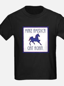 GAITED HORSE - Make America Gait Again T-Shirt