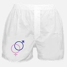 Boy and Girl Symbols Boxer Shorts