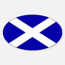Scottish Flag Decal