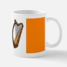 Irish Flag With Harp Mugs