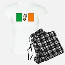 Irish Flag With Harp Pajamas