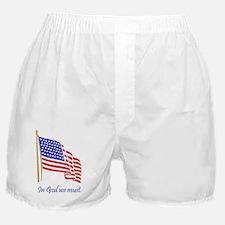 In God we must.JPG Boxer Shorts