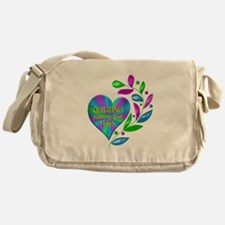 Quilting Happy Heart Messenger Bag