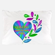 Quilting Happy Heart Pillow Case