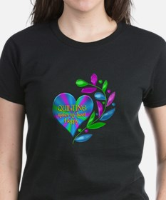Quilting Happy Heart Tee