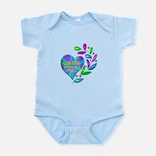 Quilting Happy Heart Infant Bodysuit