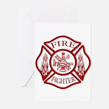 Firefighter Greeting Cards (Pk of 20)