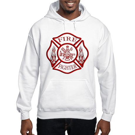 Firefighter Hooded Sweatshirt