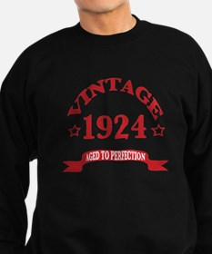 Vintage 1924 Aged to Perfection Sweatshirt