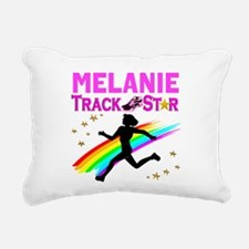 PERSONALIZE RUNNER Rectangular Canvas Pillow
